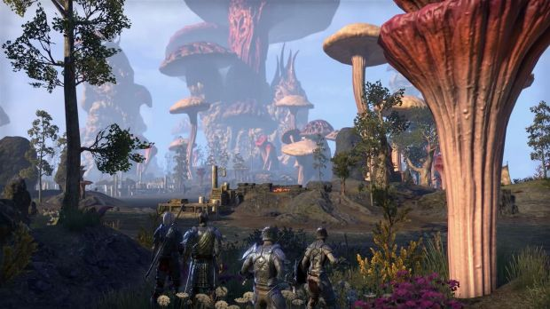 As ever in an MMO, quests can be taken on alone or with friends.