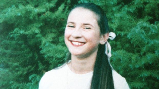 Katie Bender was 12 when she was killed by a flying piece of steel from the Royal Canberra Hospital implosion.