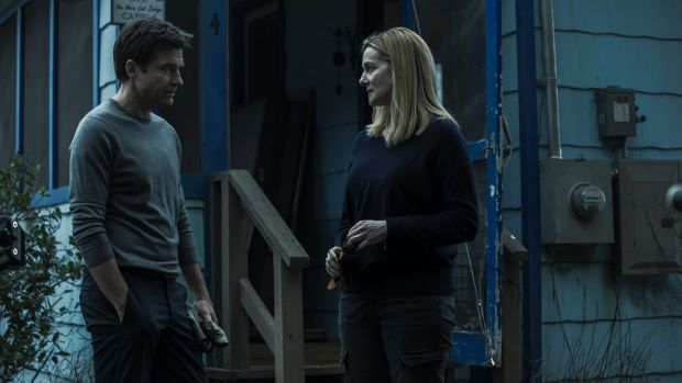 Rocky marriage: Jason Bateman and Laura Linney in Ozark.