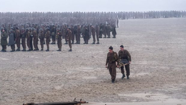 Dunkirk isn't a war film, it's a film about survival, says director Christopher Nolan.