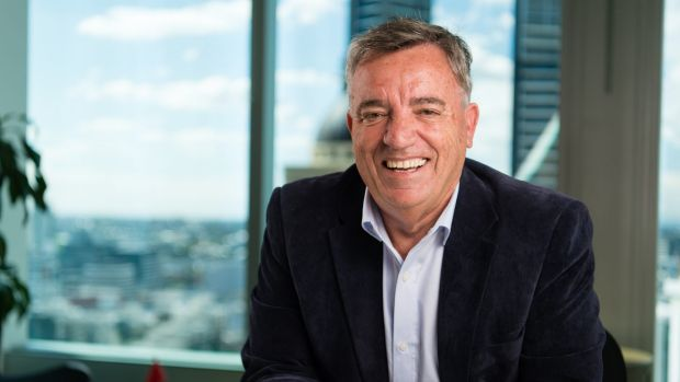 Alister Robertson, 66, who just started a new job with PwC.