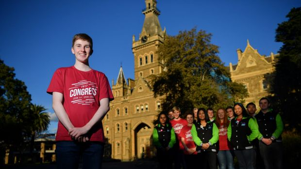 David Trevorrow, a Victorian Student Representative Council member, has repeatedly called for mandatory student ...
