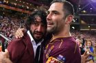 Brothers-in-arms: Johnathan Thurston will do the honours for old mate Cameron Smith.