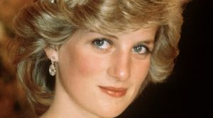 Diana, Princess of Wales wears the Cambridge Lover's Knot tiara