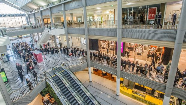 Early morning queues for Mecca Maxima stretched out the door of the Canberra Centre.