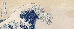 Hokusai's Mt Fuji series, that contains his undisputed masterpiece The great wave off Kanagawa (The great wave), was an ...