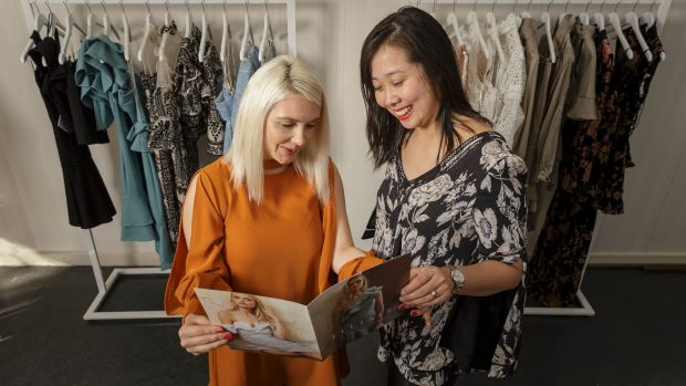 Katie Pratt and Amy Li are targeting China's emerging middle-class with the country making up 20 per cent of  Elliatt's ...