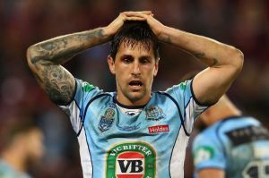 """""""It's not going to break me"""": Mitchell Pearce has taken much of the blame for NSW's Origin defeat."""