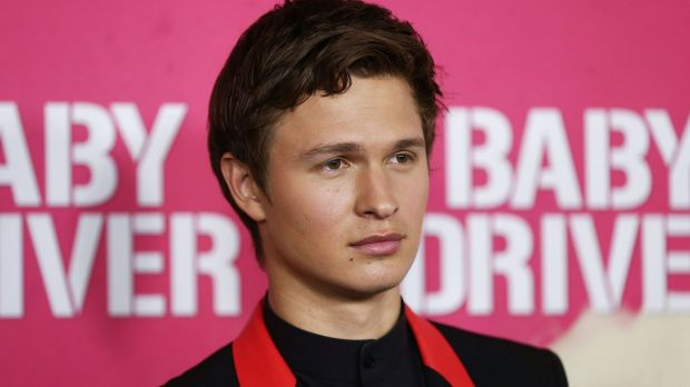 Ansel Elgort at the Baby Driver Australian premiere on Wednesday.