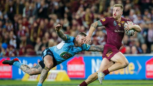 Know how to win: Cameron Munster was instrumental in the Maroons game three triumph.