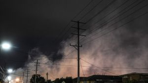 The blaze at a Melbourne recycling plant started on July 13.