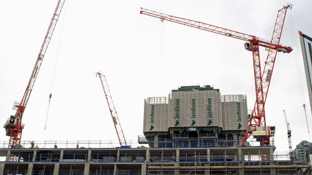 Construction of the Elephant and Castle regeneration scheme underway.