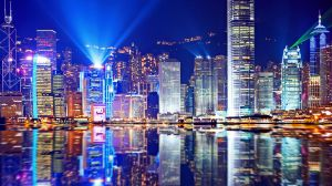 Hong Kong's Symphony of Light.