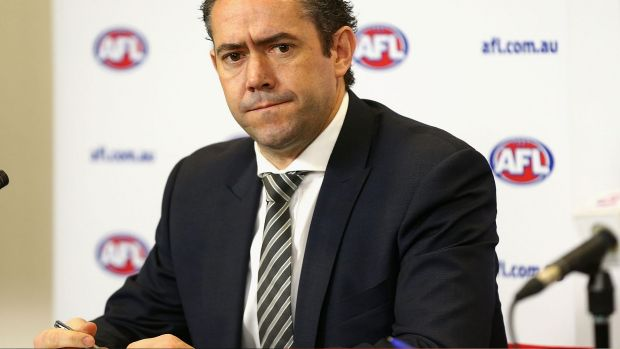 Former AFL football operations general manager Simon Lethlean had only been in the job a few months before resigning ...