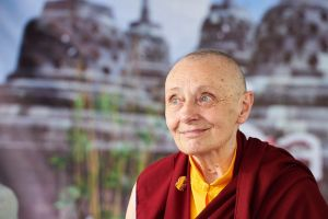 Tibetan Buddhist nun Jetsunma Tenzin Palmo is in Sydney to talk about finding peace in unstable times.