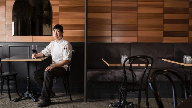 Tipsy Bull bar and restaurant chef Dean Han.