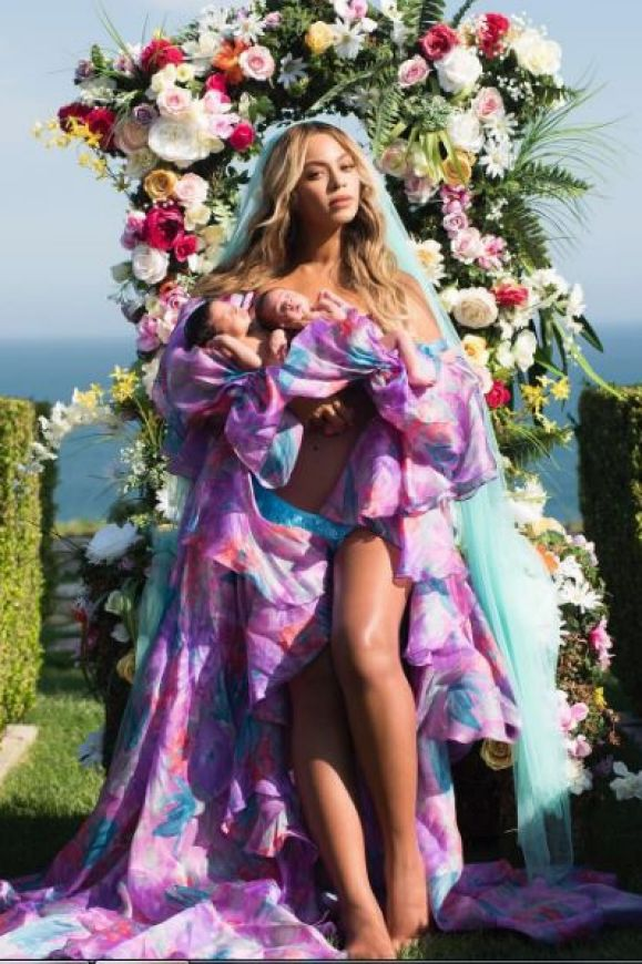In true form, Beyonce revealed her twins Sir Carter and Rumi one-month after they were born on June 13 in an Instagram ...