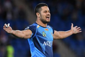 "Why me?: Jarryd Hayne's personal sponsor claims he has been made a ""scapegoat""."
