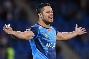 """Why me?: Jarryd Hayne's personal sponsor claims he has been made a """"scapegoat""""."""