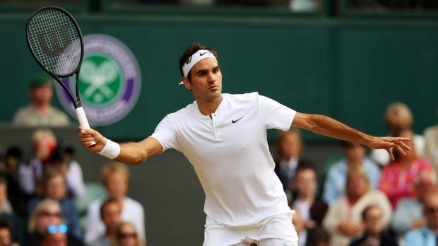 Roger Federer has won a record eight Wimbledon title.