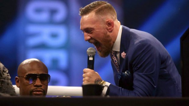 McGregor allegedly got knocked out whilst sparring