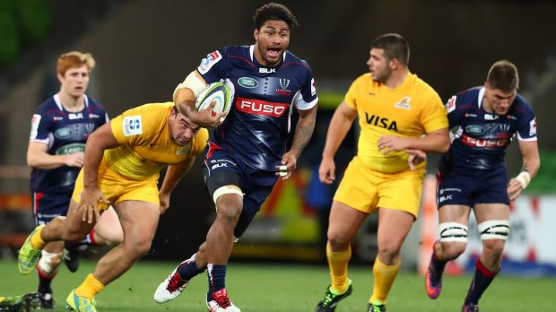 Top No.8: Amanaki Mafi has been a standout for the Rebels this year.