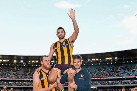 Luke Hodge's final game may be on a Friday night.