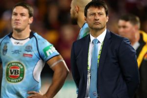 Questioned: Laurie Daley will front the NSWRL board's State of Origin series review before a decision is made on his future.