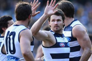 Will he or won't he: Patrick Dangerfield has been given until the last minute to prove his fitness ahead of Geelong's ...