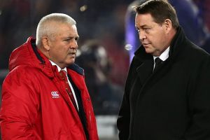 Shock to the system: The All Blacks got a stern test from the Lions but coach Steve Hansen says it will be a wake up call.