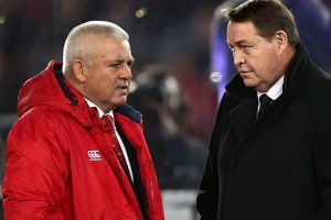 Countrymen, foes: Warren Gatland and Steve Hansen share an uneasy rivalry.