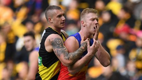 Dustin Martin has been handed fines by the match review panel.