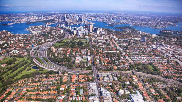 Six smokestacks are planned for the north shore, including three along the Warringah Expressway.
