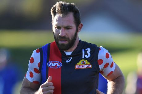 Travis Cloke played his second straight game in the VFL on Saturday night.