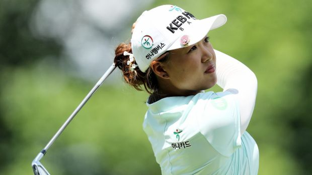 Australia's Minjee Lee had a late charge and tied for 11th at the US Women's Open