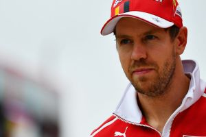 One-point lead: Vettel lost ground to Lewis Hamilton..