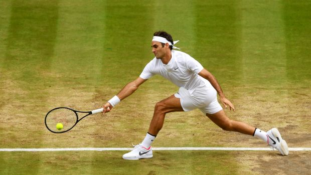 Federer believes there is no reason why he cannot keep playing Wimbledon until he is 40, such has been his form.