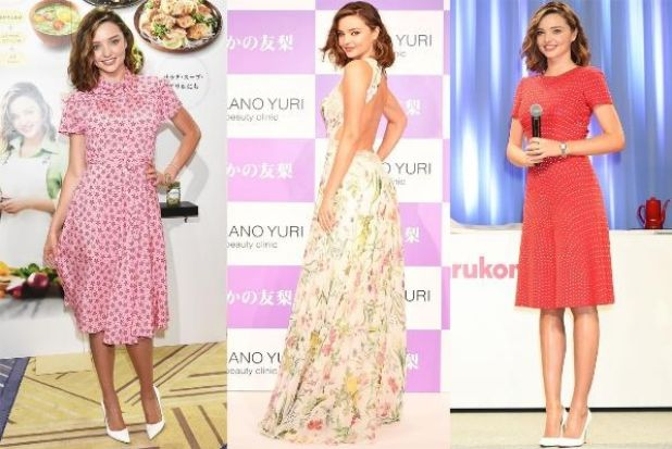 The gorgeously dimpled super' Miranda Kerr's been in Japan this week, and it looks like she packed our dream summer ...
