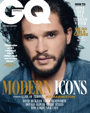 The August issue of GQ is on stands from July 17.