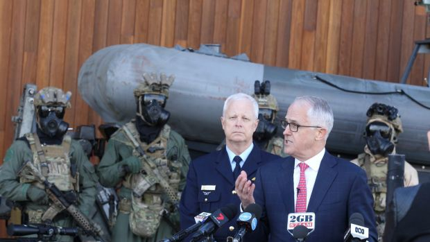 Malcolm Turnbull is searching for a consistent line.