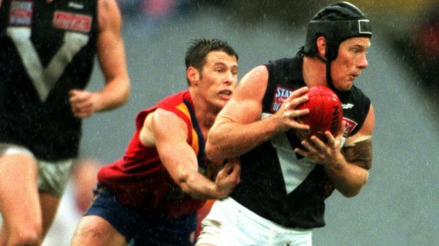 Nathan Burke in action for the Big V.