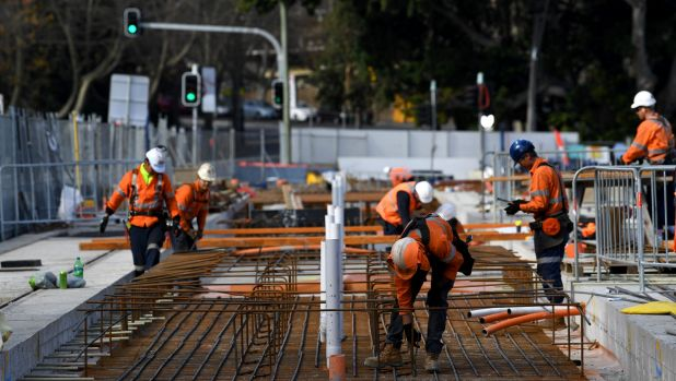 The standards for the new line differ to those for the existing inner west light rail line.