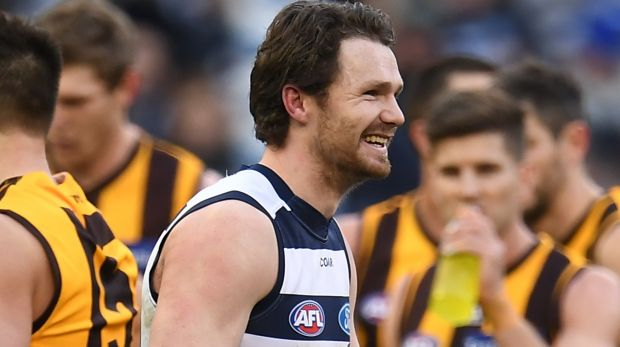 Patrick Dangerfield has the last laugh.