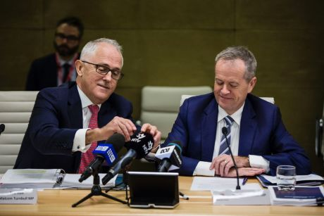 The Coalition is becoming less willing to do the bidding of big business and Labor has realised getting tough with ...