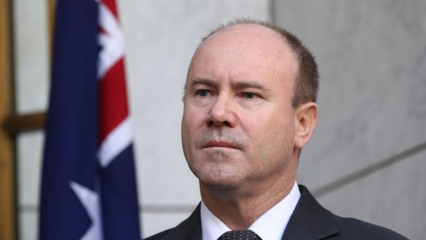 Greg Moriarty was announced as the new anti-terrorism coordinator by Prime Minister Tony Abbott during a press ...
