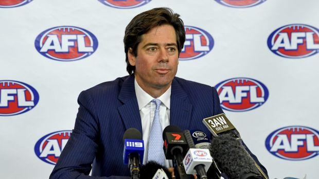 AFL boss Gillon McLachlan.