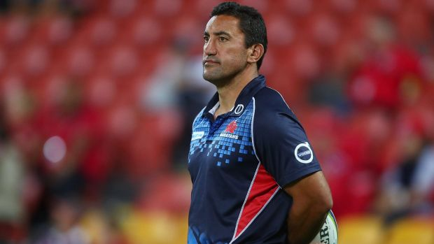 Responsibility: Waratahs coach Daryl Gibson won't lay any blame on the players for NSW's awful season.