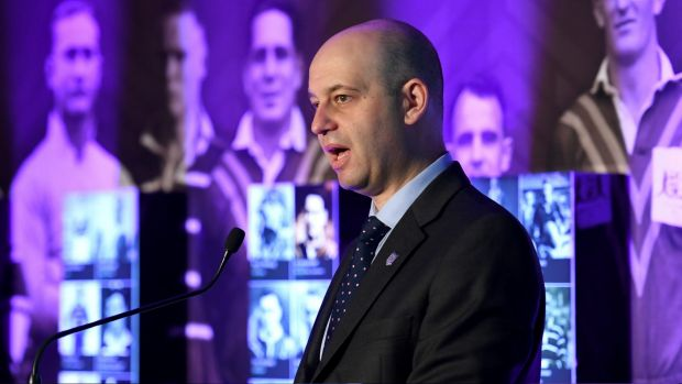 Conciliatory: NRL CEO Todd Greenberg says there is genuine commitment to grow the game from both players and administrators.