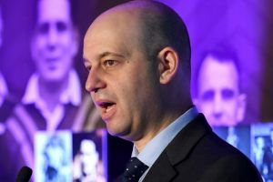 Big money: NRL CEO Todd Greenberg has come to the negotiating table.