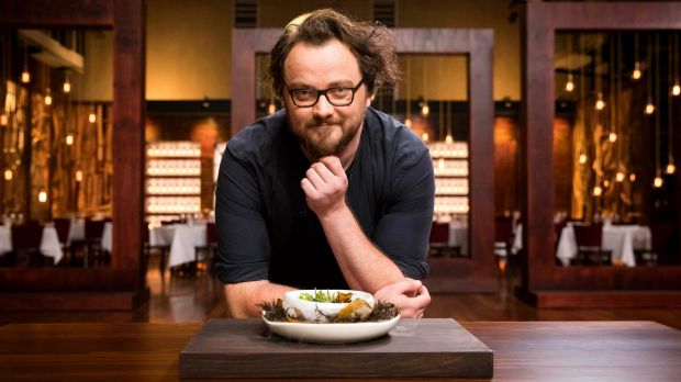 Shaun Quade and his 'Pearl on the Ocean Floor' on MasterChef.